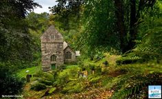The lovely Minster Church, Valency Valley, Boscastle, north Cornwall, UK.  By Tim Martindale Photography.