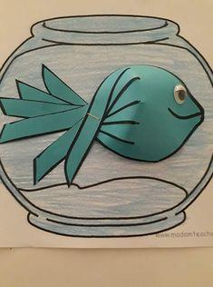 Preschool Arts And Crafts, Easy Crafts For Kids, Projects For Kids, Preschool Activities, Diy For Kids, Letter E Craft, Sea Crafts, H&m Kids, Kindergarten Art