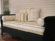 Twin Size Outdoor Mattress Coverporch Swing By Harrisdesignsct