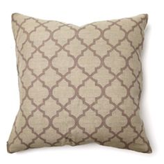 Illusion Tile Print Purple Pillow Pair
