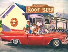 The very first A & W Root Beer Stand was in Lodi, California!