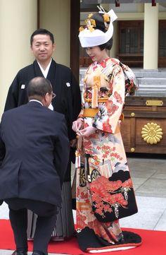 花嫁衣裳 引き振袖