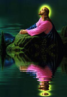 Pin on Religious Jesus Christ Painting, Jesus Art, God Jesus, Pictures Of Jesus Christ, Religious Pictures, Immaculée Conception, Jesus Loves Us, Jesus Wallpaper, Mary And Jesus