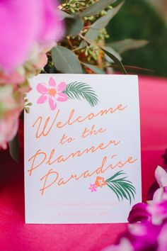 The amazing staff of Hidden Garden hosted the first ever Hidden Garden Planner Paradise bash for local Los Angeles planners at their amazing studio!