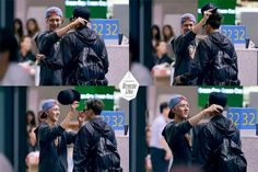 Wife Sehunna fixing her husband's appearance because one does not allow one's husband to look unkept. xD #TaoHun