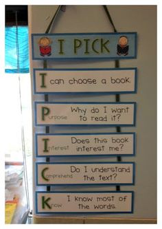 3rdgradethoughts: Daily 5: Launching Read to Self - great first lessons to get started!