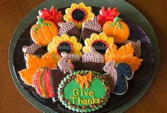 23 Delicious Thanksgiving Cookies