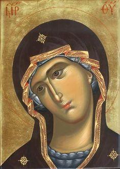 . Religious Pictures, Religious Icons, Religious Art, Byzantine Icons, Byzantine Art, Architecture Religieuse, Icon Clothing, Greek Icons, Religious Paintings