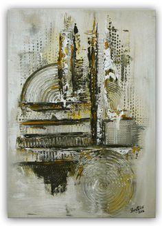 Silber City - VERKAUFT - 50x70 cm
