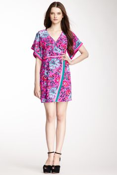 Nanette Lepore Lotus Silk Dress. Source: hautelook.com