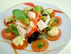 Petto di pollo in insalata  http://blog.giallozafferano.it/rafanoecannella/petto-di-pollo-in-insalata/