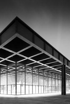 Neues Nationalgalerie Berlin - Mies Van der Rohe