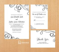 free printable wedding invitation templates download