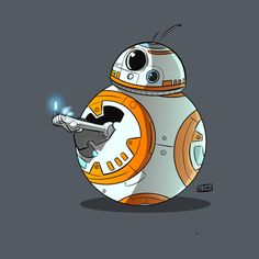BB8 Middle Torch shirt