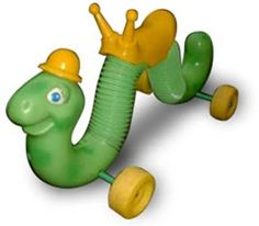 Inchworm...my youngest sister rode hers down our basement steps..I think my mom about died.