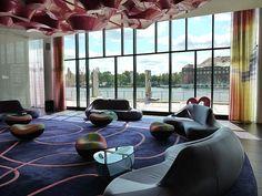 """Bubble"" interior: nhow Music Hotel Berlin"