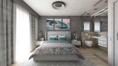 Bedroom design by Mialmi Design Bedroom, Bedroom Inspo, Bedroom Decor, Modern Contemporary, Bedrooms, Interior Design, House, Nest Design, Home Interior Design