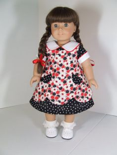 Dress and Apron for American Girl Molly Emily Kit by agseamstress, $42.00