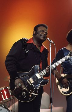 Freddie King. (r.i.p.) One of the blues greatest assets on the guitar. he has inspired many of today's legends.