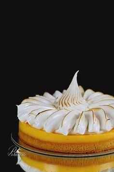 Tarta de limón y merengue suizo                                                                                                                                                                                 Más