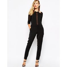 Supertrash Wizzard Tux Jumpsuit ($120) ❤ liked on Polyvore featuring jumpsuits, black, slim fit tuxedo suit, tall jumpsuits, jump suit, tuxedo suit and tux jumpsuit