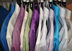Dress shirts available at Winston's Men's Wear.