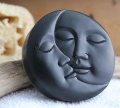 Luna Soap - Eclipse - Halloween sapone - Luna eclissi lunare - Samhain - Halloween Decor