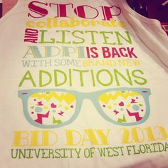 Stop, collaborate and listen. ADPi is back with some brand new additions.