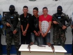 Tres detenidos por pesesión de armas en Santa Bárbara