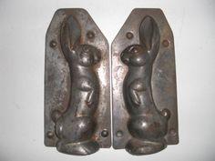 antike-Schokoladenform-HASE-BUNNY-antique-chocolate-mold-WALTER-BERLIN-8402