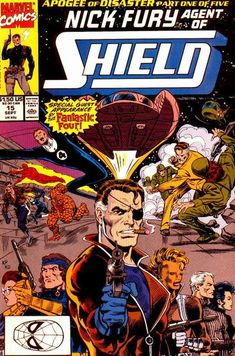 Nick Fury, Agent of S.H.I.EL.D. Vol. 3 # 15 by Keith Pollard & Kim DeMulder