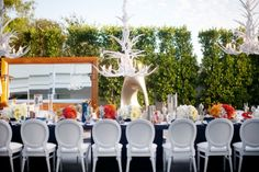 Such a modern space with eclectic flair! (The SLS at Beverly Hills) Wedding Blog, Dream Wedding, City Wedding Venues, Downtown Hotels, Bridal Show, Modern Spaces, Receptions, Marry Me, Best Hotels