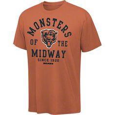 Chicago Bears Vintage Stadium Wear III Pigment Dye T-Shirt
