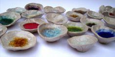melting glass into ceramics