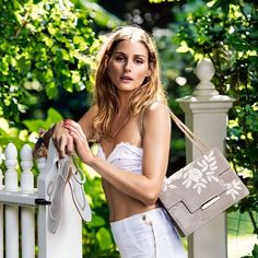 Olivia Palermo for Aerin Lauder Resort 2017 Campaign by Silja Magg