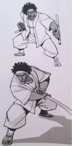 Wasabi concept art by Shiyoon Kim, Jin Kim, Lorelay Bove, and Kevin Nelson (Art of Big Hero 6)