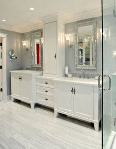 White Rock - traditional - bathroom - vancouver - by Enviable Designs Inc.