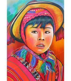 Kinderportret Schilderij 1