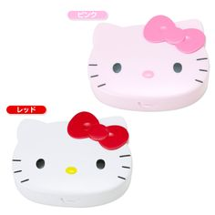 Hello Kitty Face-shaped twin seal case Sanrio online shop - official mail order site
