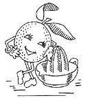 FREE VINTAGE PATTERNS KITCHEN MENU (Creepy fruit alert!!!!)