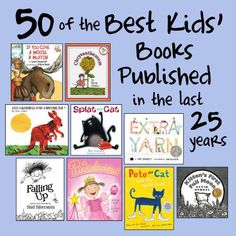 50 of the Best Kids Books Published in the last 25 Years