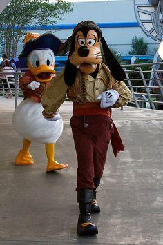 Goofy & Donald Duck ~ pirates