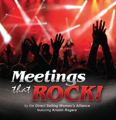 Nicki Keohohou's interview with Kristin Rogers will provide you with the step-by-step process to hold Meetings That Rock. http://www.cms.dswa.org/node/259/106