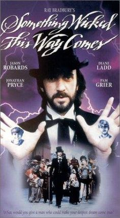 Something Wicked This Way Comes, 1983...AWESOME MOVIE.... if you've not seen it.. you should. CLASSIC Disney at one of its best.