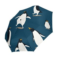Amazon.co.jp: Naanle Cute Cartoon Funny Penguins Dark Blue Auto Open Close Foldable Travel Umbrella: ホーム&キッチン March Of The Penguins, All About Penguins, Penguins And Polar Bears, Cute Penguins, Penguin Cartoon, Penguin Love, Cute Cartoon, Socially Awkward Penguin, Travel Umbrella