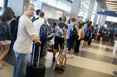 Americans rate flying on par with waiting in line at the DMV