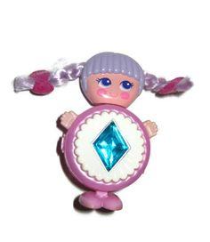I had these!  Sweet Secrets Flashee diamond gem Galoob 1980s 80s toy. $14.00, via Etsy.