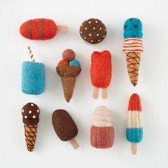 Felt Ice Cream Toys | The Land of Nod