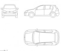 Easy Car Drawing Tutorial For Children: Sports Car Side