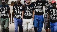 Justice for farm murders protests in Cape Town White Crosses, Pilgrimage, Cape Town, T Shirts For Women